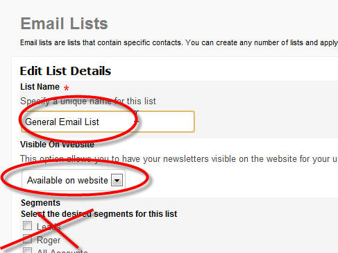 Double Opt-In Email Lists